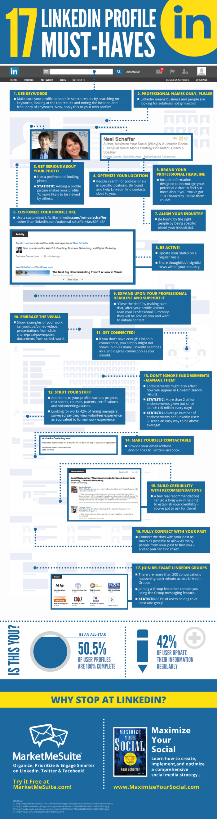LinkedIn-Perfect-Profile-Tips-Summary-Infographic