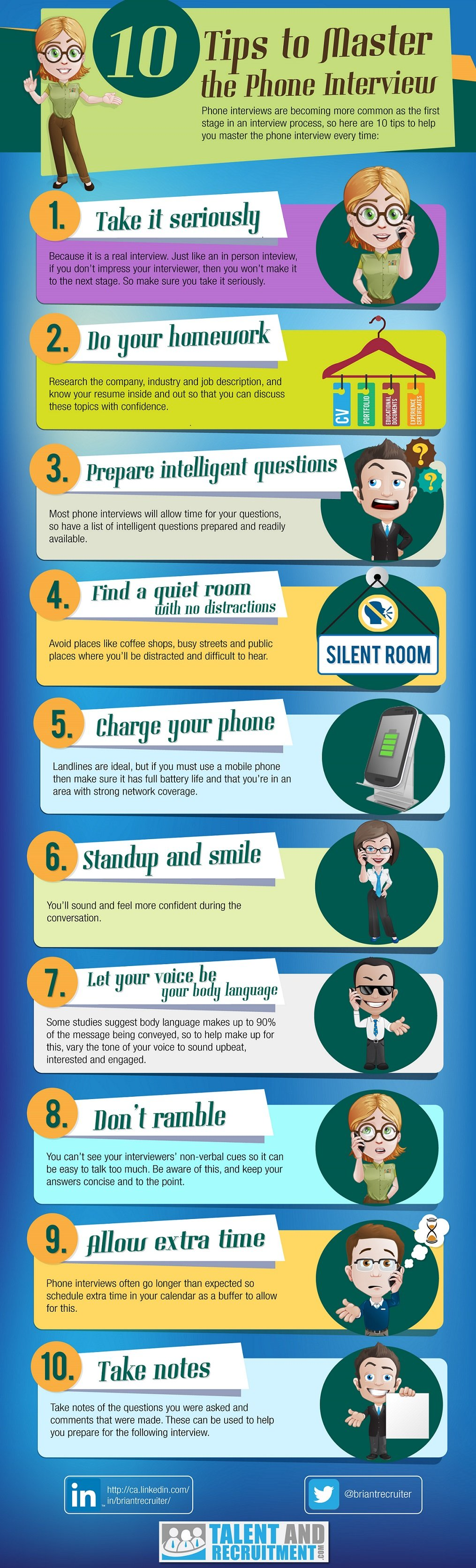 Top 10 Tips for a Great Phone Interview