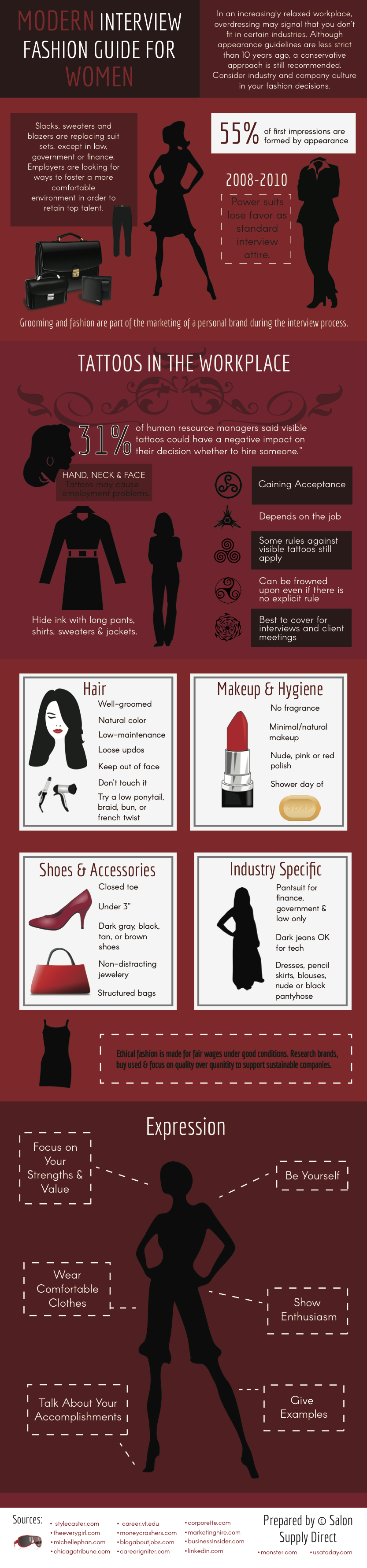 Modern Interview Fashion Guide for Women