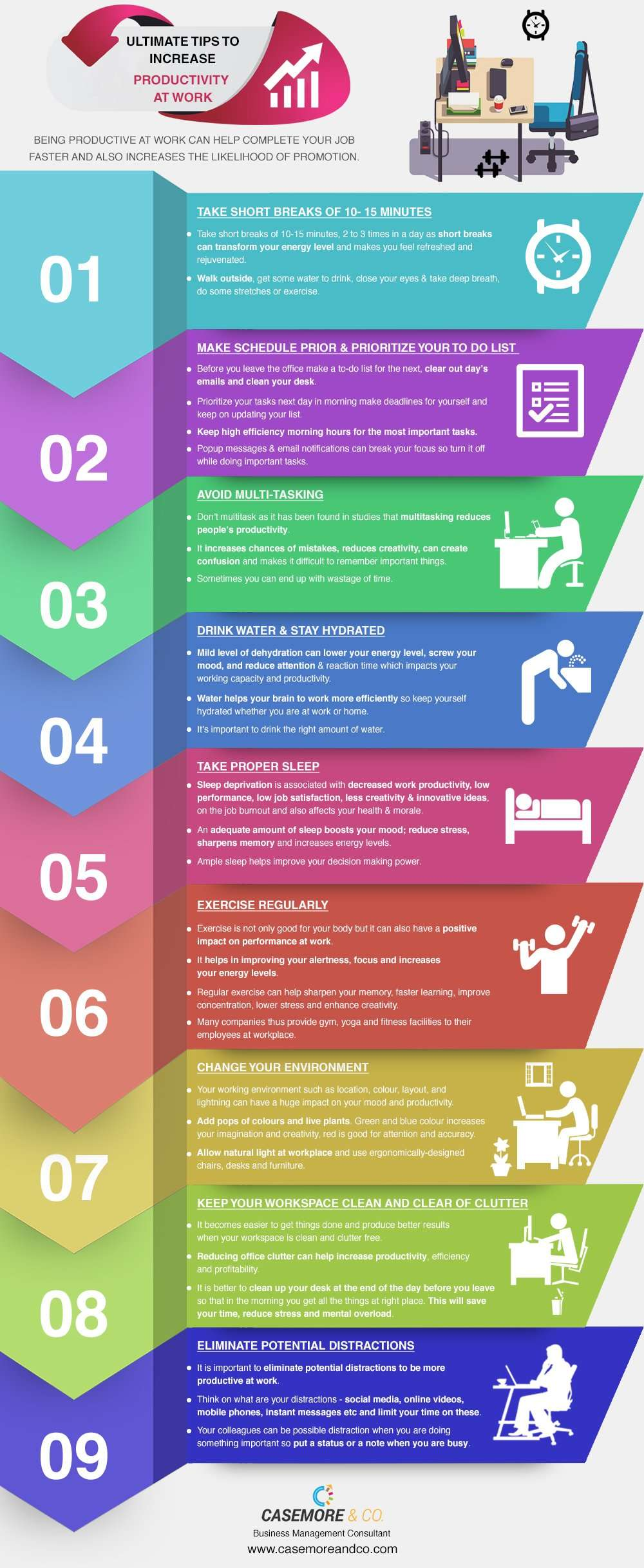 Ultimate Tips to Increase Productivity at Work